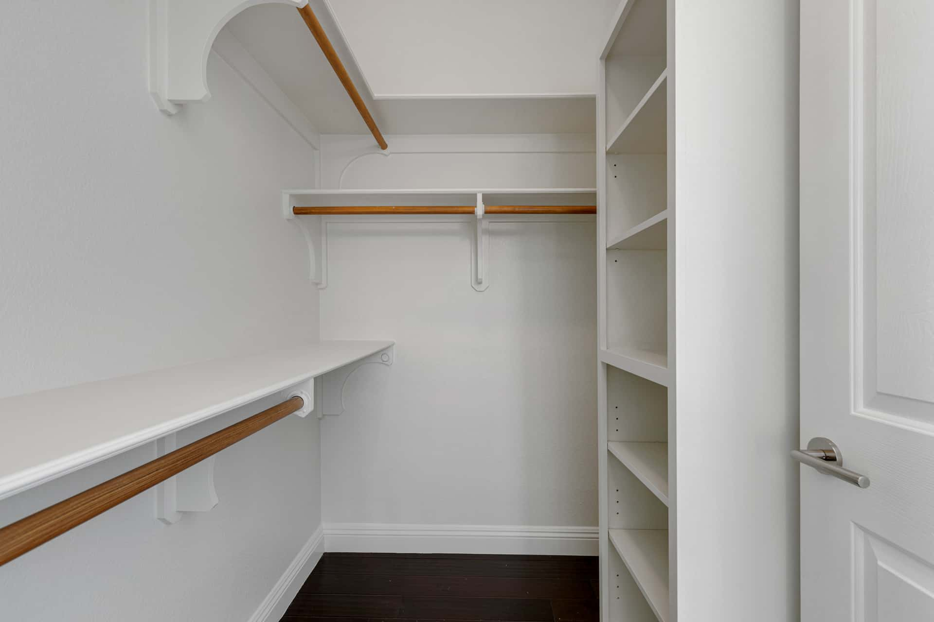 bedroom walk-in closet