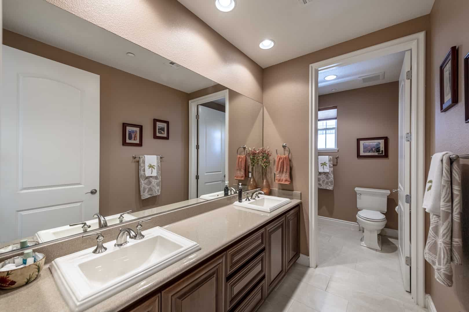 bathroom for secondary bedrooms